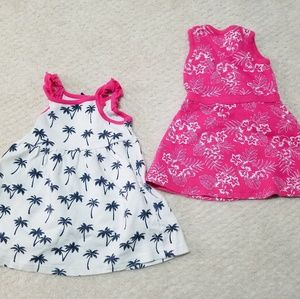 2 HB 0-3 Months baby girl dresses